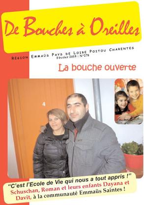 Bouches à Oreilles N° 278 - Fév. 2018