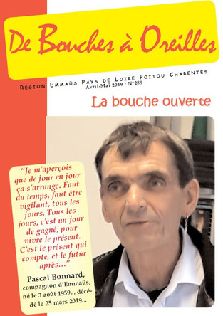 Bouches à Oreilles N° 289 : Adieu Pascal ...