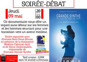 Grande soirée Emmaüs Nord Deux-Sèvres : FILM PROJECTION