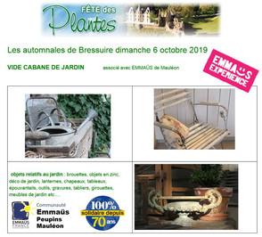 6 octobre : Fête des Plantes à Bressuire