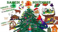Le samedi 6 novembre, c'est Noël !!!
