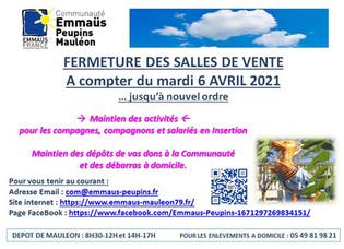 CONFINEMENT AVRIL 2021