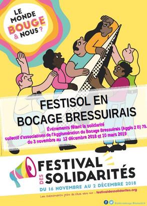 FestiSol 2018 : découvrir la solidarité internationale dans le Bocage