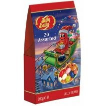 Jelly Belly ассорти 20 вкусов пакет 200г рождество