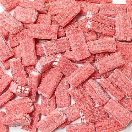 Блоки Клубника кислые в сахаре 1,5кг, FINI