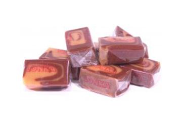 Мягкая карамель ваниль-шоколад 2кг, Lonka