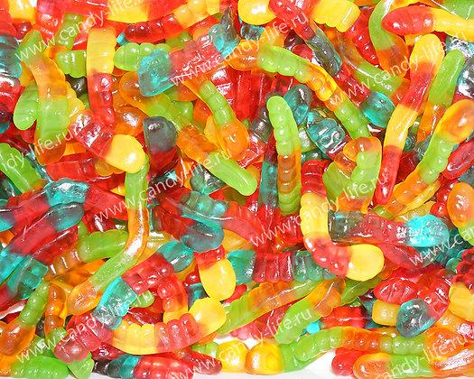 Червячки разноцветные 1кг, FINI