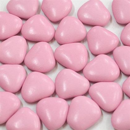 Сердца драже розовые 100г, Pellino