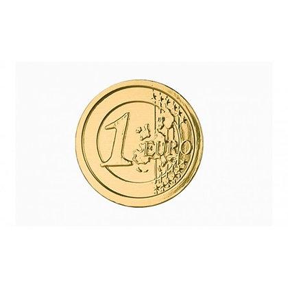 """Шоколад фигурный """"Монеты Евро"""" 25гр"""