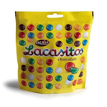 Драже разноцветное из молочного шоколада 190гр
