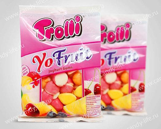 """Марм фас. """"Йогуртовые фрукты"""" 200гр, Trolli"""