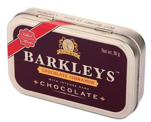 Драже Шоколад-корица 50гр «BARKLEYS»