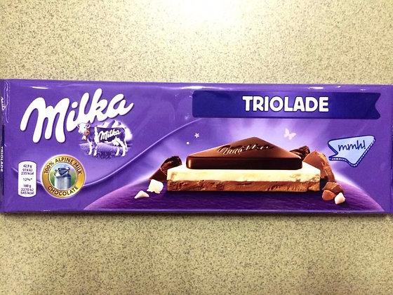 "MILKA Три шоколада ""TRIOLADE""  300гр"