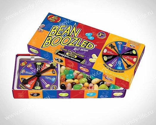 """Драже жевательное """"Ассорти Bean Boozled"""" ИГРА с вращающимся диском 100гр"""