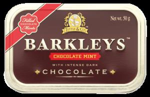 Драже Шоколад-ментол 50гр «BARKLEYS»