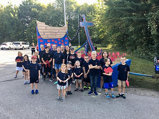 2019 sawdust days float with students.jp