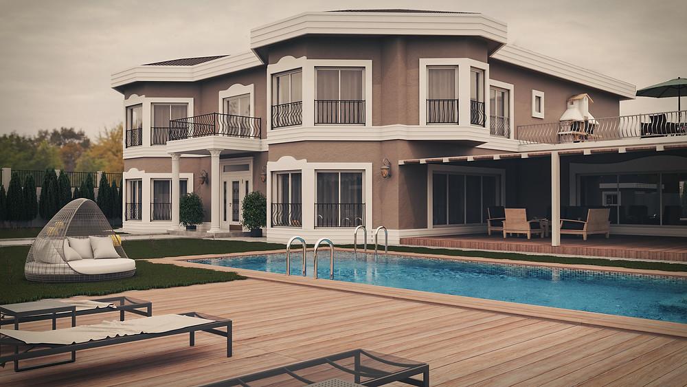 Kırgızistan Villa Görselleştirme