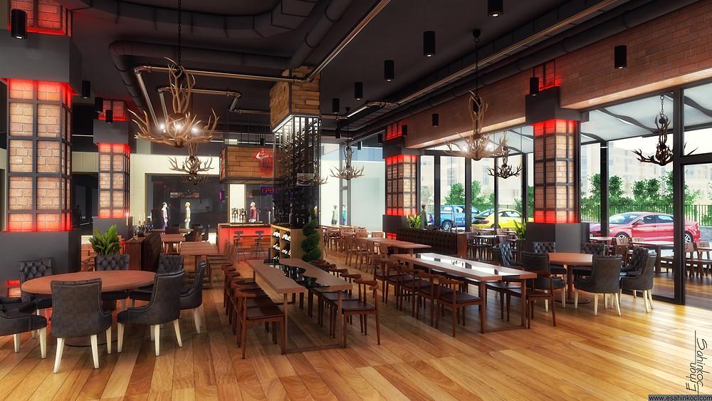Steakhouse Tasarımı