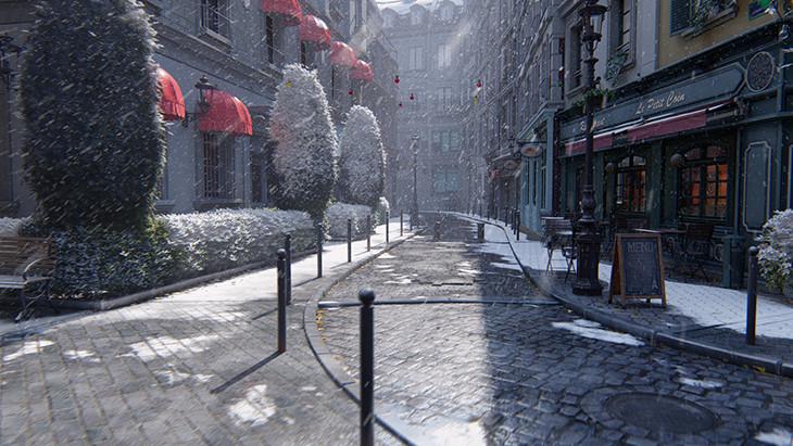 Atmosferik Yağmur ve Kar lumion