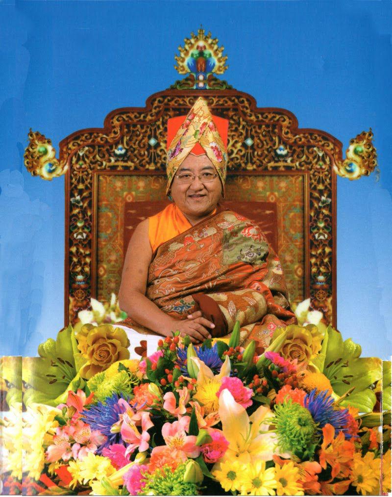 Сакья Тридзин. Глава школы Сакья тибетского буддизма.jpg