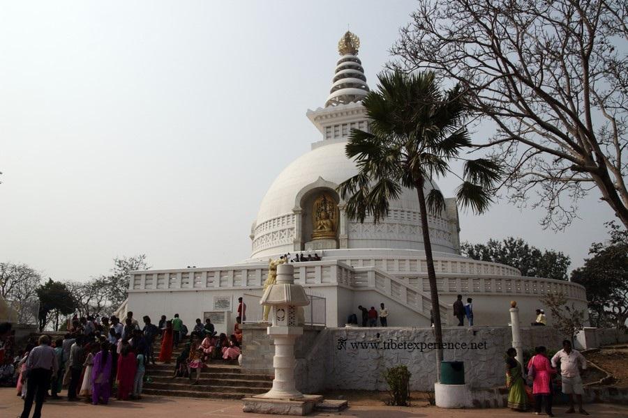 Ступа Мира в Раджгире