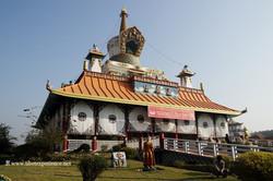 Храм Дрикунг Кагью в Лумбини