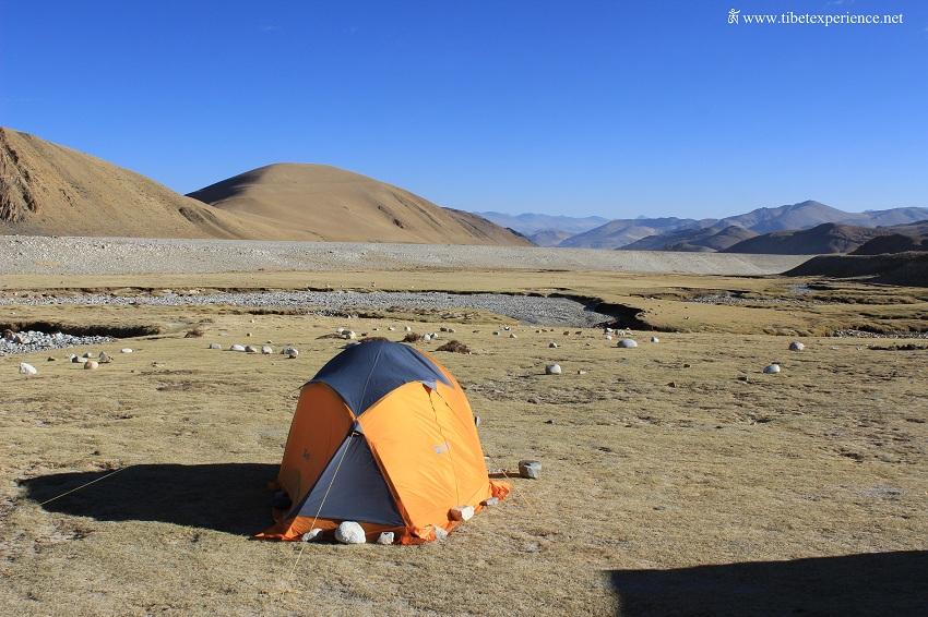 Кемпинг в районе Эвереста