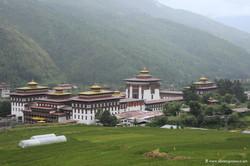 Бутан, Ташичо Дзонг, Tashichho Dzong