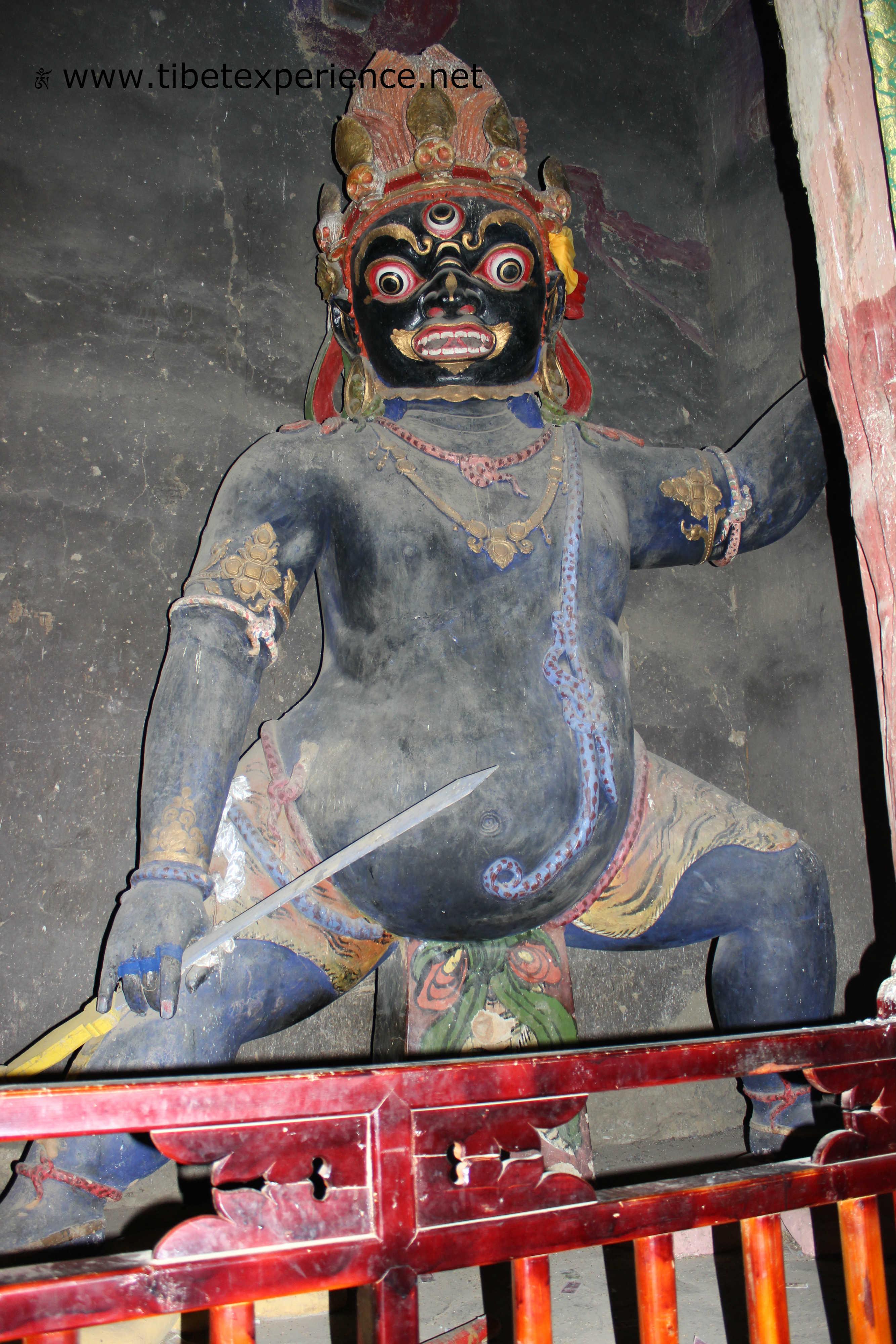 Тибет. Монастырь Сакья. Вайшравана.jpg