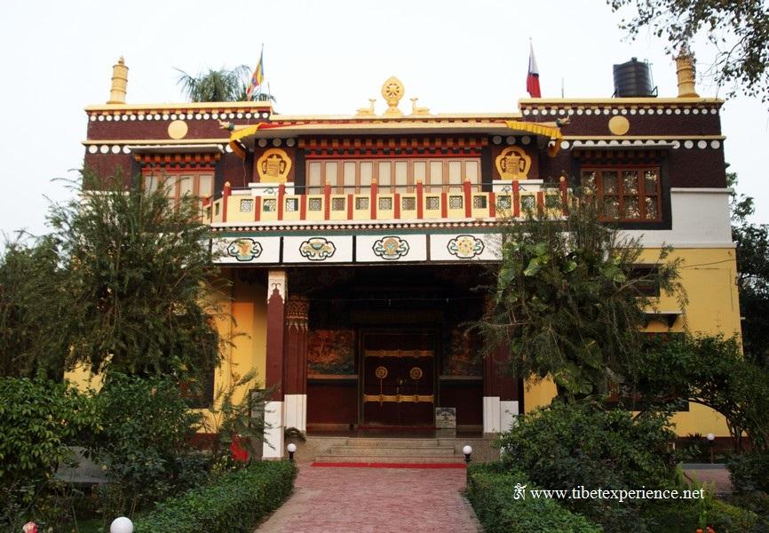 Тибетский храм в Лумбини