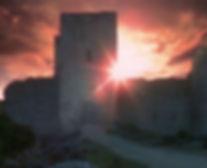 Замок Пюивер. Кадр из фильма «Девятые врата»