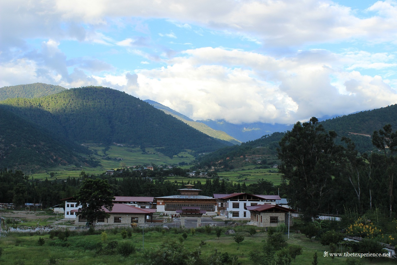 Пунакха, летняя резиденция короля