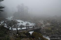 мост в районе Кокчруннг (Kokchrung)