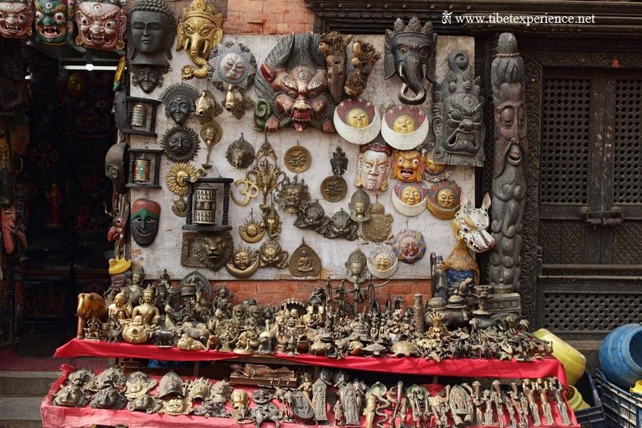 Катманду. Сувенирная лавка