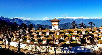 Перевал в Бутане