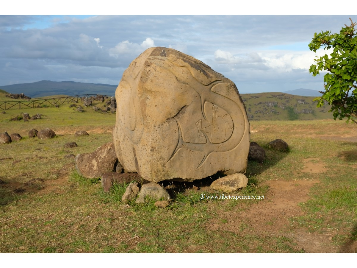 Камень в районе Оронго