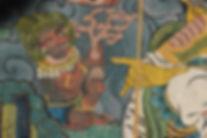 фреска в Бутане