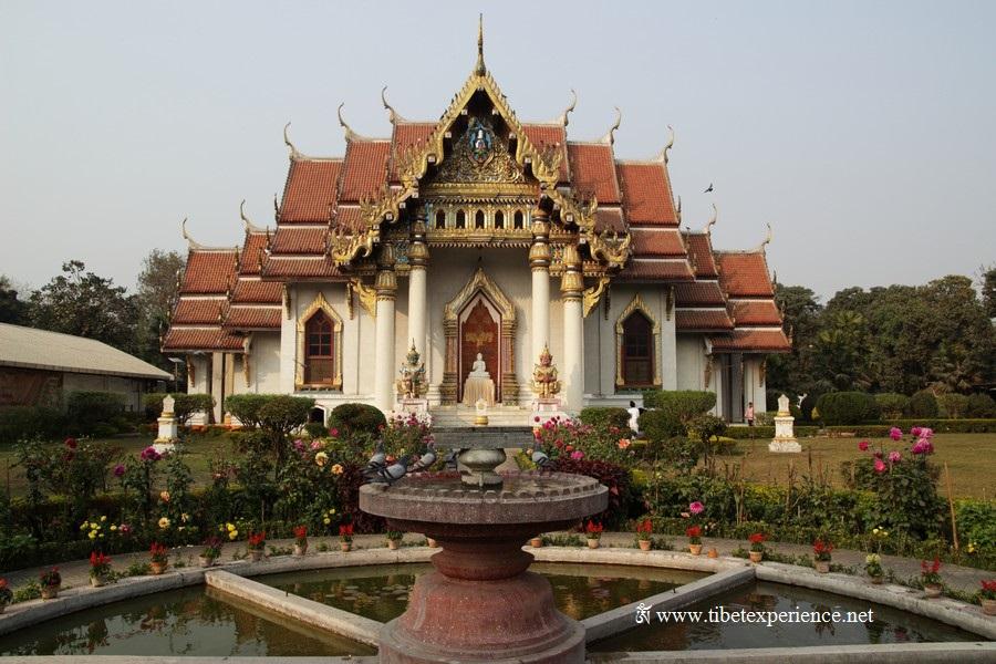 Тайский храм в Бодх Гайе