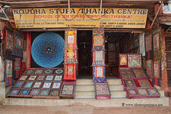 Лавка с мандалами. Катманду