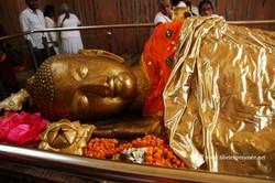 Будда в Кушинагаре