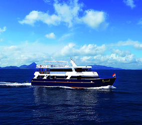 A luxurious, spacious liveaboard, named Mermaid I, we have to offer in Indonesia.