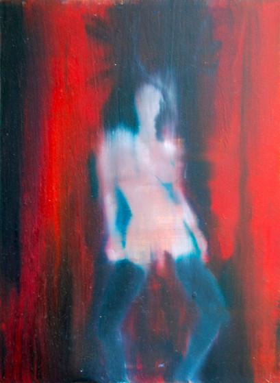 Huile sur bois, 2012 30x22,5 cm