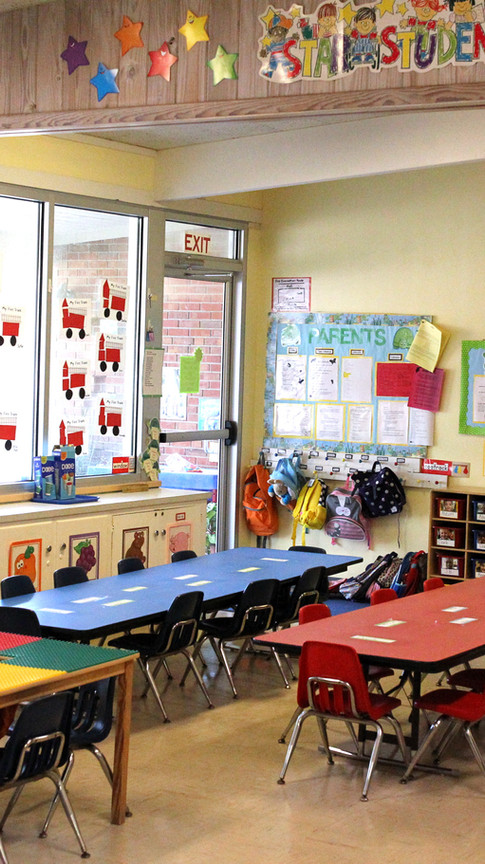 Faith Preschool classroom