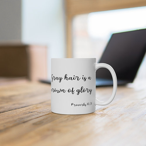 Crown of Glory Ceramic Mug