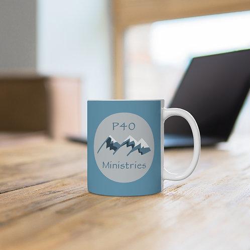 Official P40 Ministries Ceramic Mug