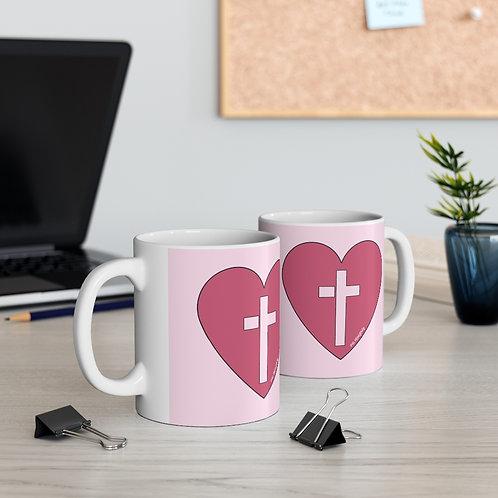 Heart of Worship Ceramic Mug
