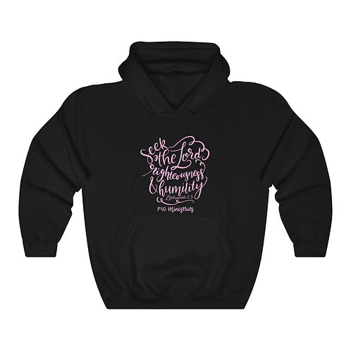 Seek the Lord Hoodie