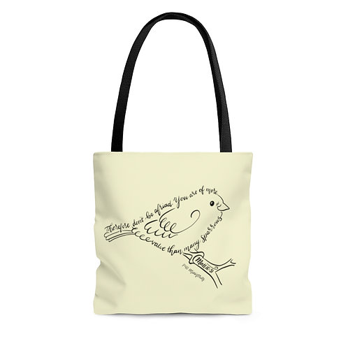 More than Sparrows Tote Bag