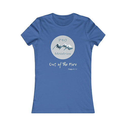 Women's Official P40 Ministries Tee