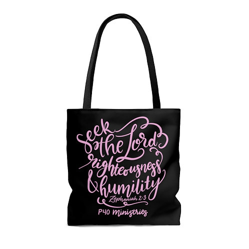 Seek the Lord Tote Bag